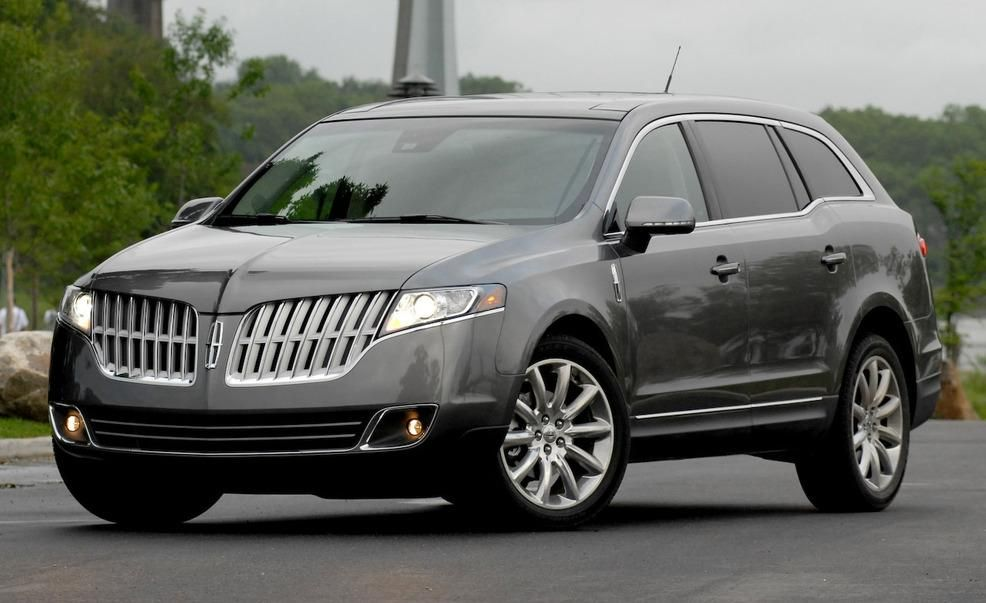 Lincoln MKT / Town Car (2010–present) Sometime around 2006, someone at Lincoln must have decided American luxury car buyers wanted a three-row SUV with the grin of a baleen whale and the appearance of having a loaded diaper. So began the development of what would become the 2010 Lincoln MKT (at least, so we think), which was based on the Ford Flex.