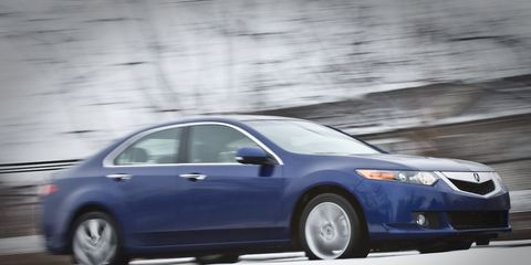 2009 Acura TSX Road Test –