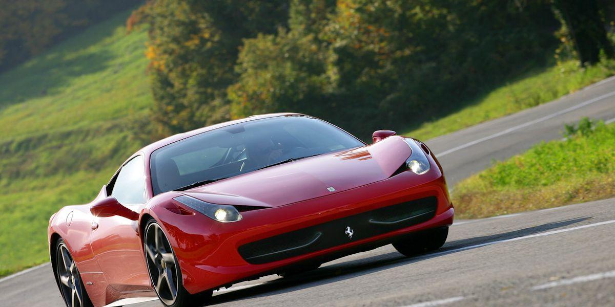 Tested 2010 Ferrari 458 Italia