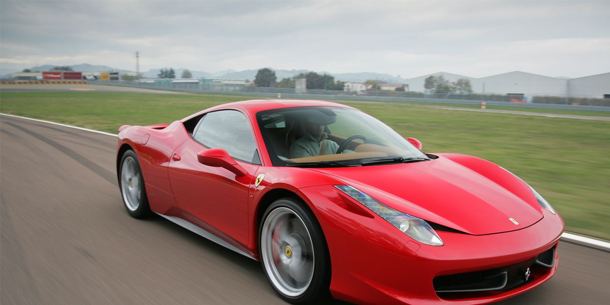 Driven 2010 Ferrari 458 Italia