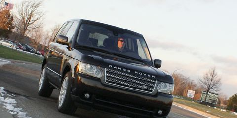 2010 Land Rover Range Rover Hse Road Test 8211 Review 8211