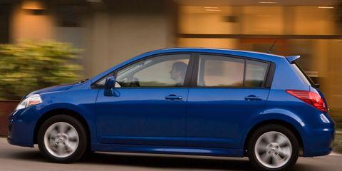 2010 Nissan Versa 1.8 SL Hatchback – Instrumented Test ...