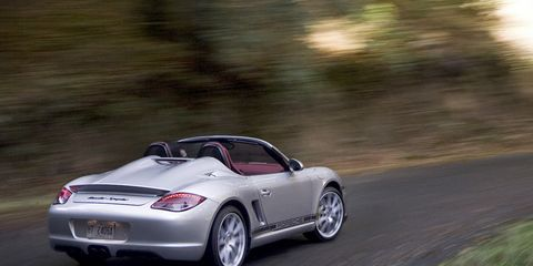 2011 Porsche Boxster Spyder 8211 Review 8211 Car And Driver