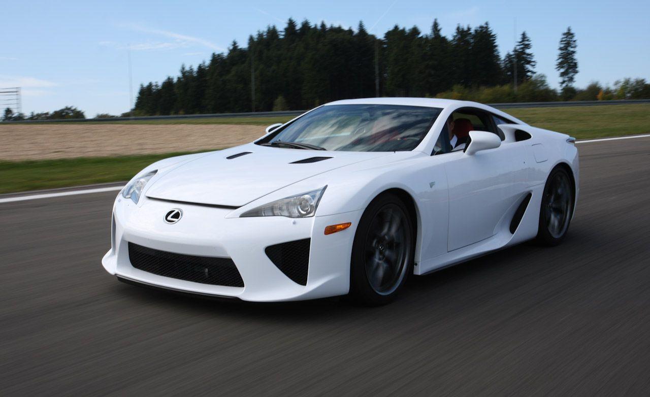 Tested: 2012 Lexus LFA