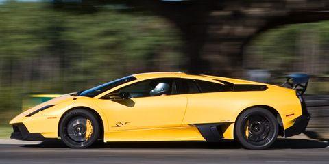 Hot Laps 2010 Lamborghini Murcielago Lp670 4 Sv At Virginia