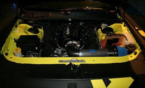 Yellow, Automotive design, Engine, Automotive engine part, Hood, Bumper, City car, Kit car, Automotive super charger part, Subcompact car,