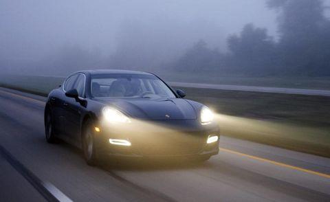 Road, Mode of transport, Automotive design, Vehicle, Yellow, Hood, Automotive mirror, Transport, Headlamp, Land vehicle,