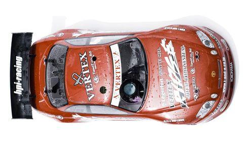 Automotive design, Red, Automotive lighting, Orange, Toy, Model car, Sports car, Automotive light bulb, Luxury vehicle, Toy vehicle,