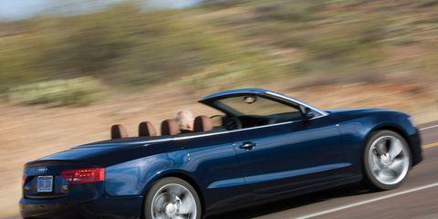 2010 Audi A5 20t Quattro Cabriolet 8211 Instrumented Test 8211