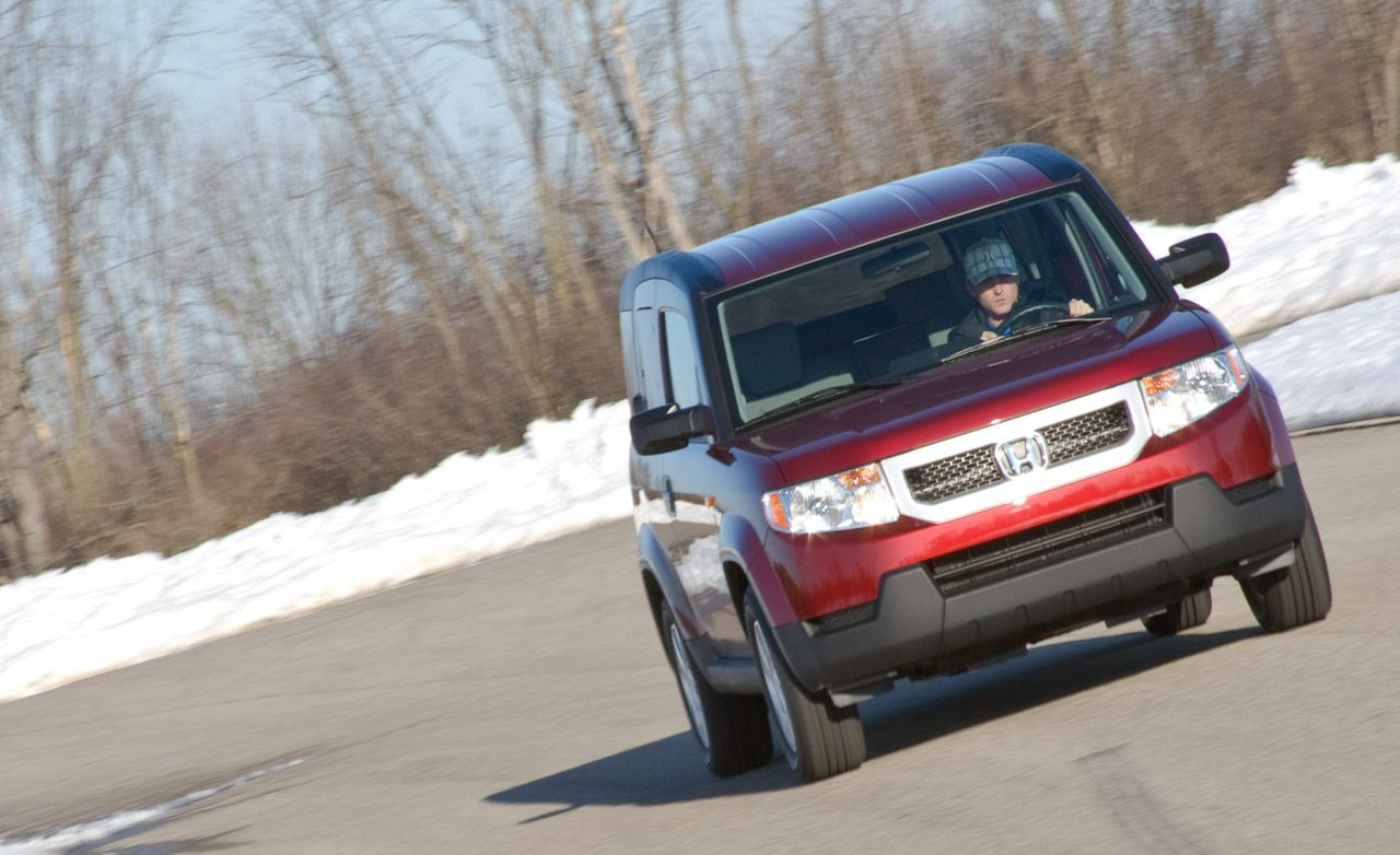 2010 Honda Element Ex Awd 8211 Review 8211 Car And Driver