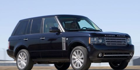 2010 Land Rover Range Rover Supercharged –