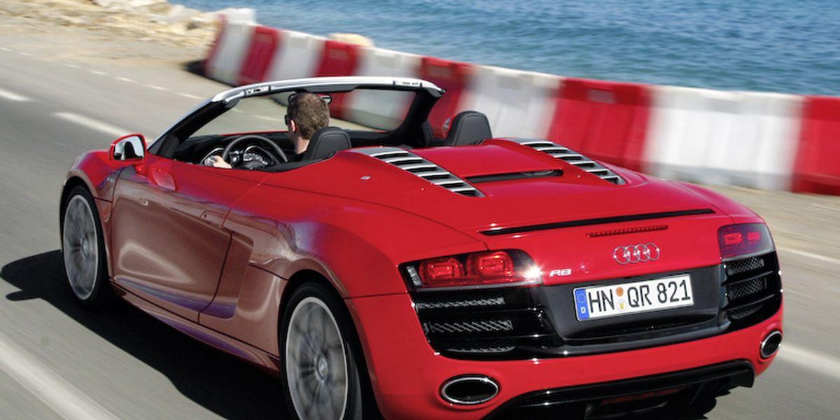 2011 Audi R8 Spyder 5.2 V10 FSI Quattro Driven