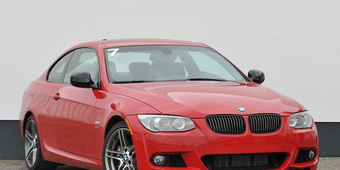 2011 bmw m3 coupe 0-60