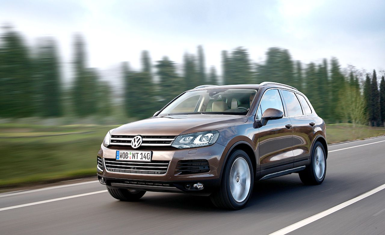 2017 Volkswagen Touareg Hybrid Tdi 8211 Review Car And Driver