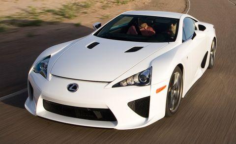 Automotive design, Vehicle, Land vehicle, Performance car, Hood, Car, Supercar, Headlamp, White, Personal luxury car,