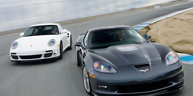 2010 Chevrolet Corvette ZR1 vs  2010 Porsche 911 Turbo