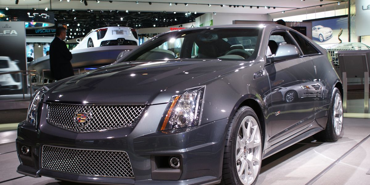 2011 Cadillac Cts V Coupe Revealed