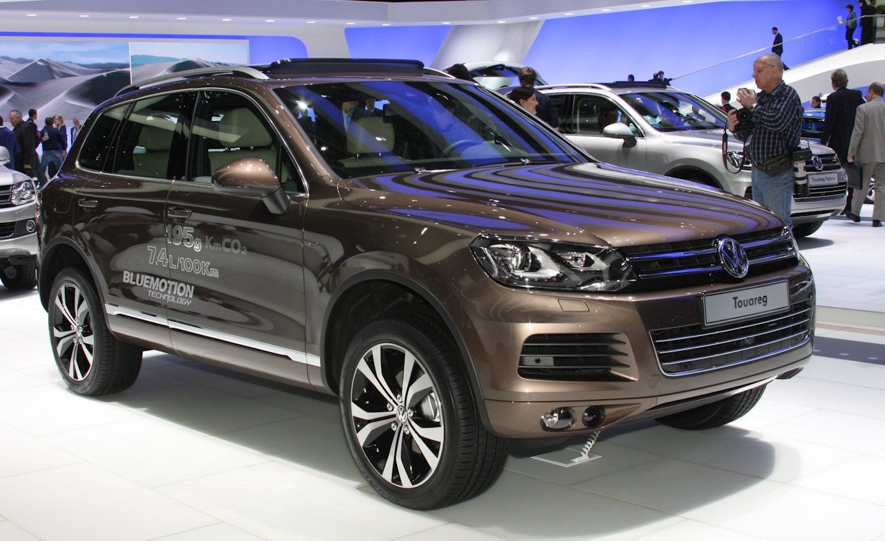 2011 Volkswagen Touareg Revealed