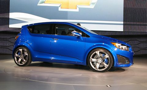 chevy aveo rs concept