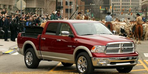 Build A Dodge Truck >> Dodge To Build Fleet Of Plug In Hybrid Rams