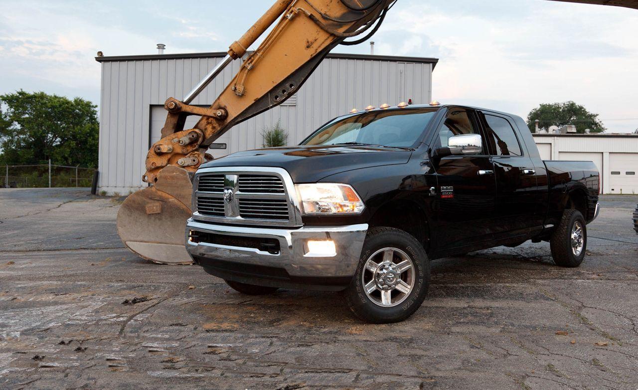 Long Term Test 2010 Dodge Ram 2500 Laramie Mega Cab 4x4 Diesel
