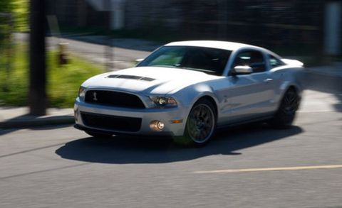 2011 Ford Mustang Shelby GT500 TestedCar and Driver