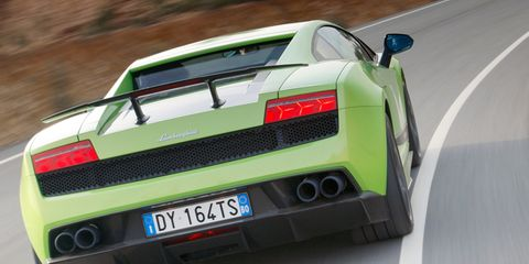 2011 Lamborghini Gallardo Lp570 4 Superleggera