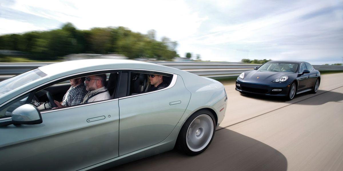 2010 Aston Martin Rapide Vs 2010 Porsche Panamera Turbo