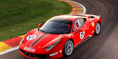 Ferrari 458 News 2011 Ferrari 458 Challenge News 8211