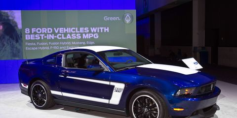 Ford Mustang News: 2012 Ford Mustang Boss 302 &ndash