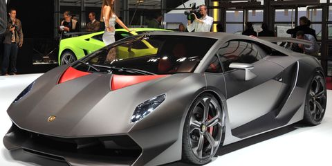 Lamborghini News Lamborghini Sesto Elemento Concept 8211 Car And