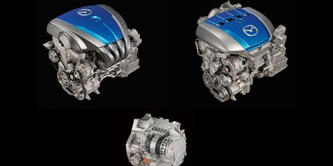 Mazda Skyactiv-G and Skyactiv-D Engines –