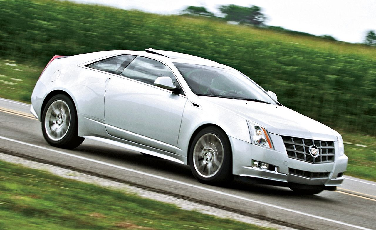 2011 Cadillac Cts Coupe Tested