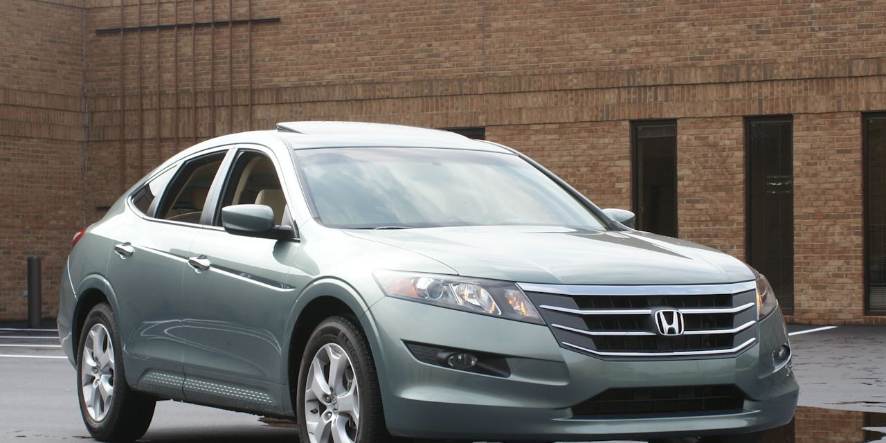 Honda Accord Crosstour Review 2010 Accord Crosstour Fwd Test 8211