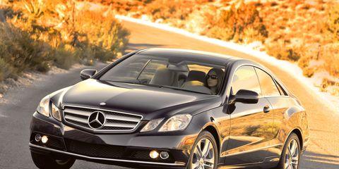 Mercedes-Benz E-class Review: 2010 Mercedes E350 Coupe Test