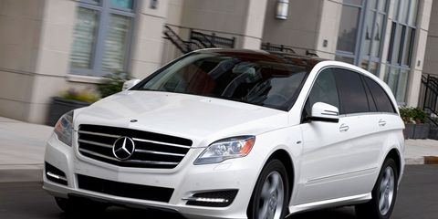2007 mercedes benz r class reviews