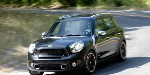 2011 Mini Cooper S Countryman All4 8211 Instrumented Test 8211