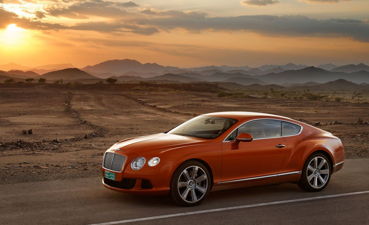 Bentley Continental Review 2012 Bentley Continental Gt Drive 150 Car And Driver