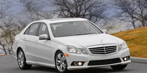 Mercedes Benz E Class Review Mercedes E350 Diesel Test 8211 Car