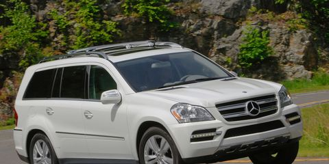 Mercedes-Benz GL-class Drive: 2011 Mercedes GL350 Test –