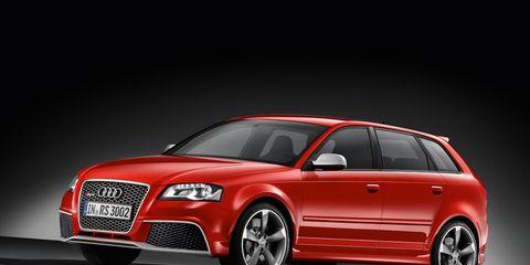 2011 Audi RS3 Announced: Audi RS3 News –