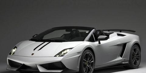 Lamborghini Gallardo Spyder Performante Lamborghini Gallardo News