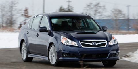 2011 Subaru Legacy 25gt Limited 8211 First Drive Review
