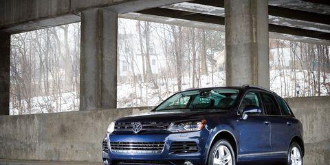 2011 Volkswagen Touareg Hybrid Test &ndash