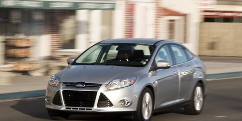 2012 Ford Focus Sel Test 8211 Review 8211 Car And Driver
