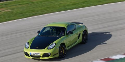 2012 Porsche Cayman R –