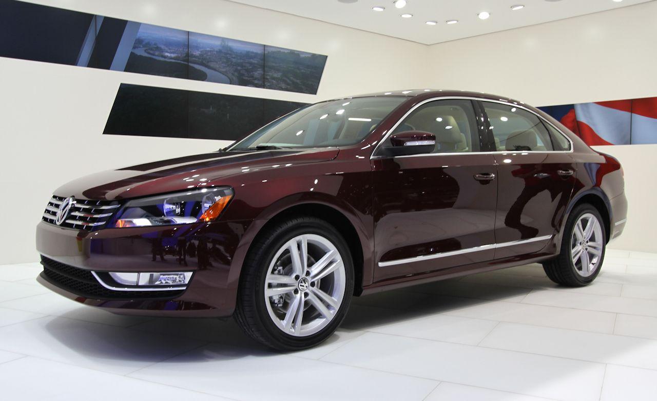 2012 Volkswagen Passat Revealed Vw Passat News 150 Car And Driver