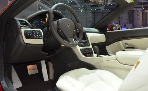 Motor vehicle, Mode of transport, Steering part, Automotive design, Steering wheel, Transport, White, Car seat, Automotive mirror, Center console,
