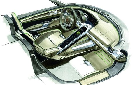 Motor vehicle, Steering part, Steering wheel, Automotive design, Vehicle door, Classic car, Luxury vehicle, Personal luxury car, Center console, Illustration,