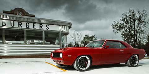 Pro Touring Camaro >> 1969 Chevrolet Camaro Red Devil Pro Touring Review Car And Driver